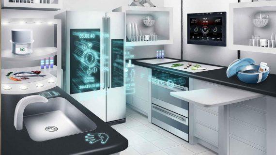 آشپزخانه ی هوشمند، راهی برای کنترل از راه دور امنیت ، آسایش و راحتی برای اهالی خانه