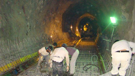 درباره نحوه بتن ریزی تونل ها و آبروها بیشتر بدانید